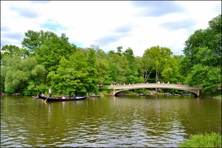 Góndolas en Central Park
