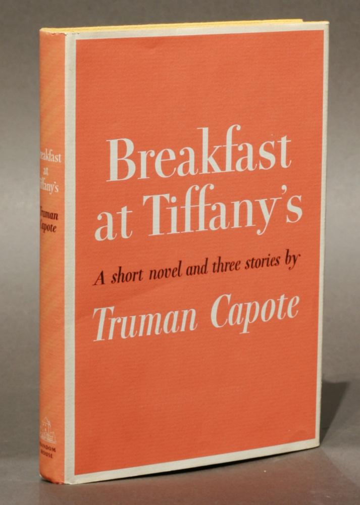 Primera edición de Breakfast at Tiffany's - Random House 1958