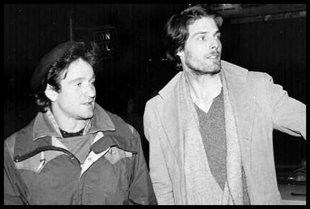Williams y Reeves en Nueva York durante la época en la que ambos estudiaban arte dramático,