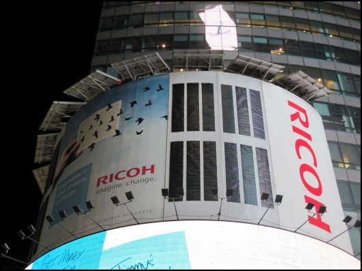 Eco-Board Ricoh Times Square