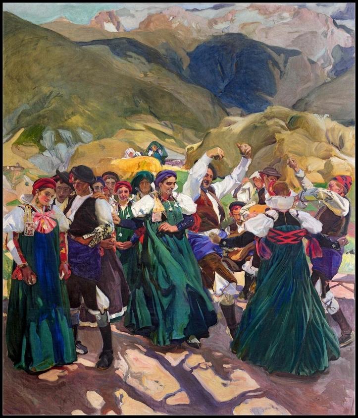 Aragón, La Jota, 1914, Joaquín Sorolla