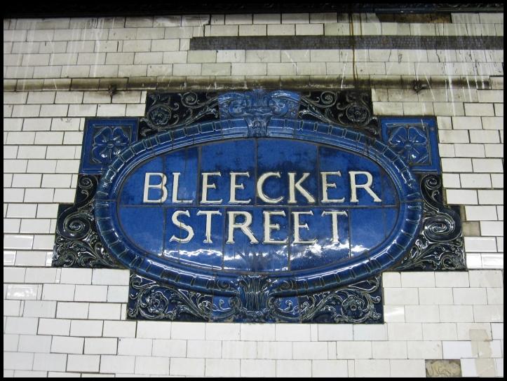 Bleecker Street Mosaico