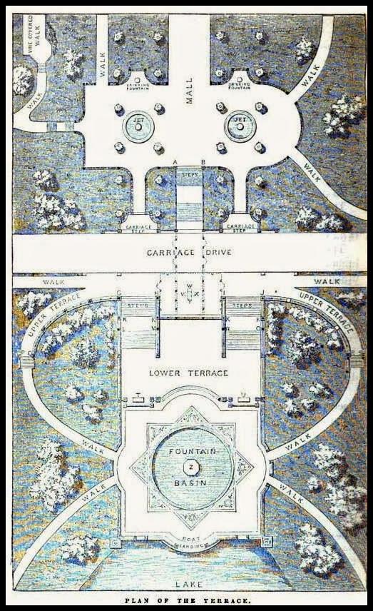 Terrace plan 1862