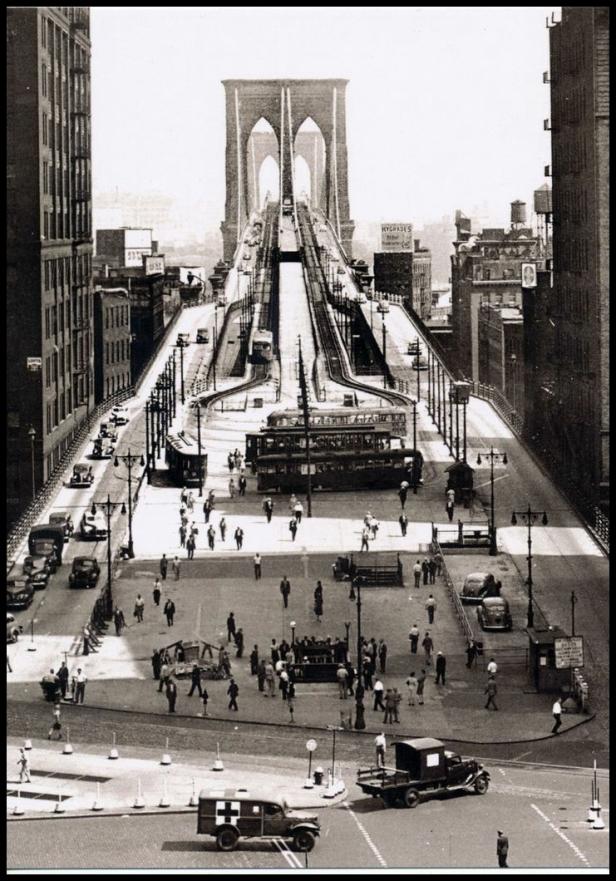 Puente de Brooklyn 1945
