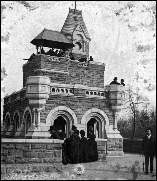 Castillo Belvedere (Central Park)  - 1870