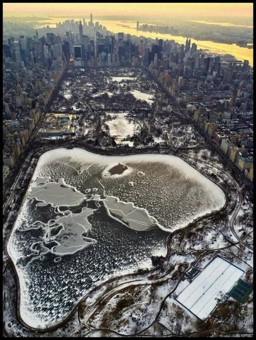 Central Park invierno