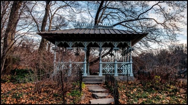 Central Park's Ladies' Pavilion