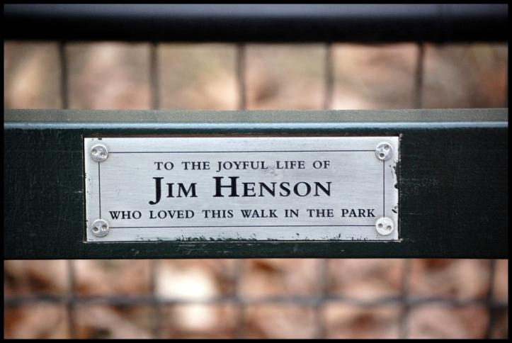 Central Park placa 1