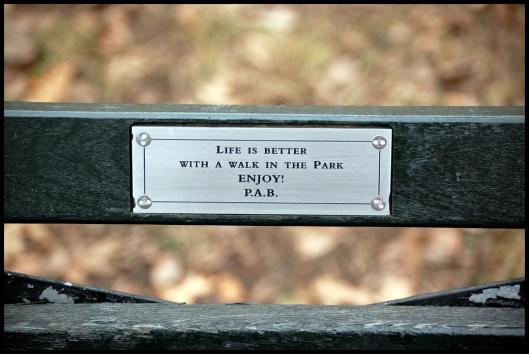 Central Park placa (2)