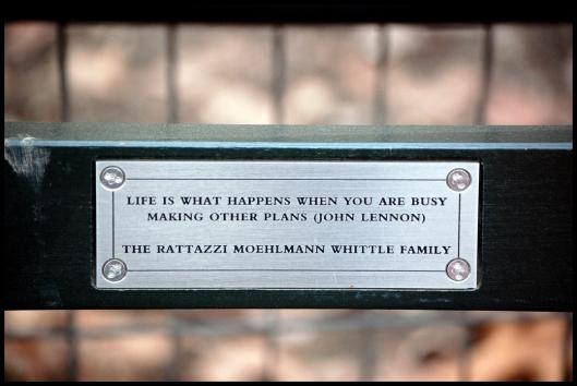 Central Park placa 3