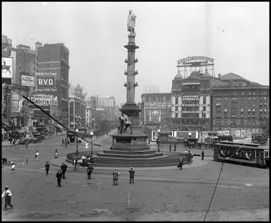 Columbus Circle 1910