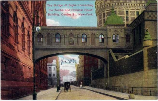 Bridge of sighs postcard