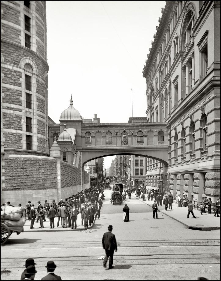 """Bridge of Sighs"" (1905). Detroit Publishing Co."