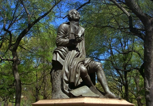 Robert Burns en Central Park 2