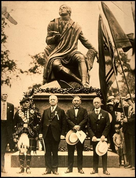 Robert Burns en Central Park