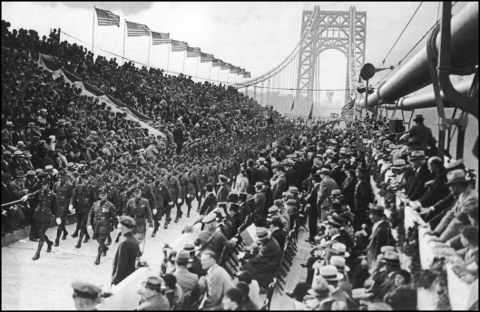 Apertura del puente George Washington (1931)