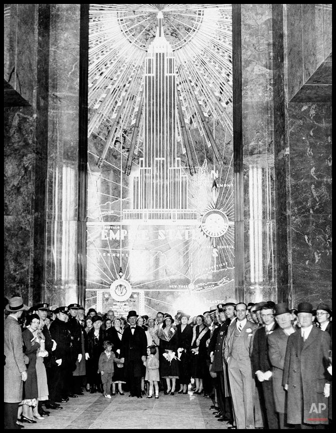Inauguración del Empire State 1