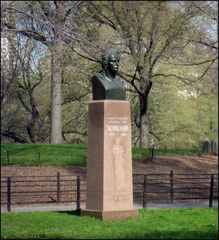 Johann Von Schiller Monument