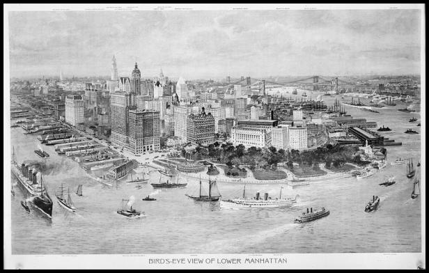 Lower Manhattan 1915