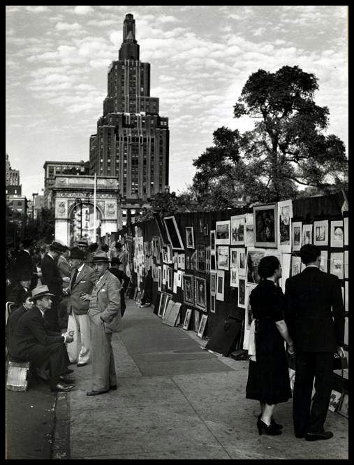 Washington Square, New York 1939