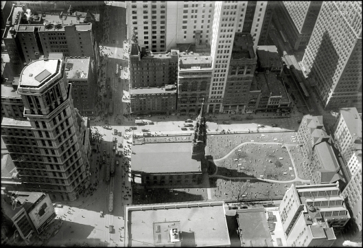 St. Paul's Church y St. Paul Building desde Woolworth Building
