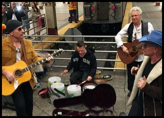 U2 Metro de Nueva York
