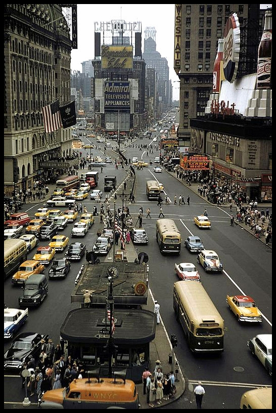 Broadway . Times Square 1958