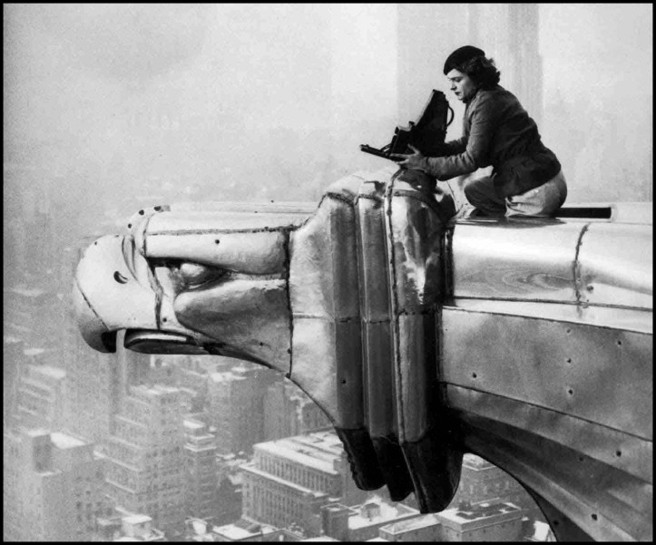 Margaret Bourke-White Edificio Chrysler