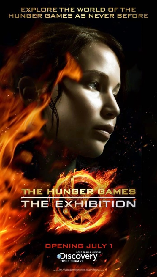 THE HUNGER GAMES THE EXHIBITION