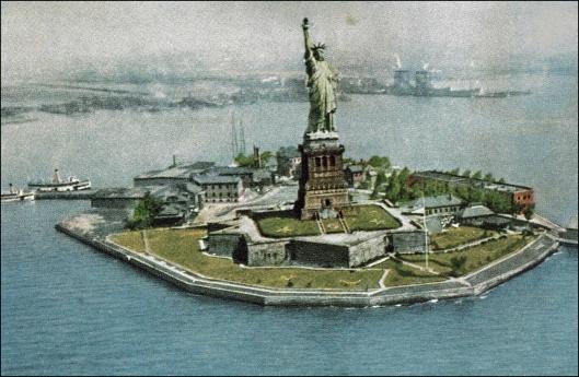 Estatua de la Libertad. Primera imagen en color