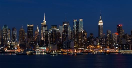 Midtown Manhattan noche