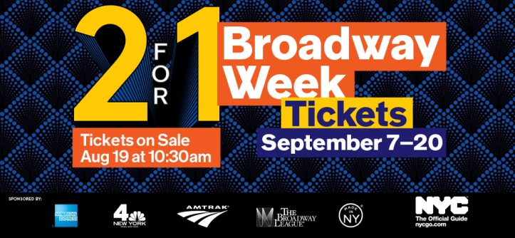 Broadway week 2015