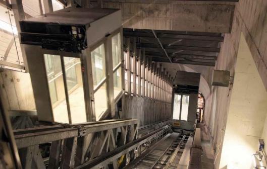 Ascensores nueva estación línea 7