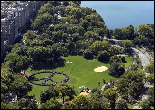 Lennon Central Park 75 cumpleaños