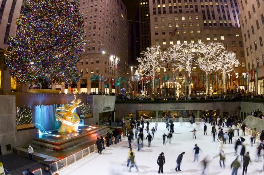 Rockefeller Center - Pista de hielo