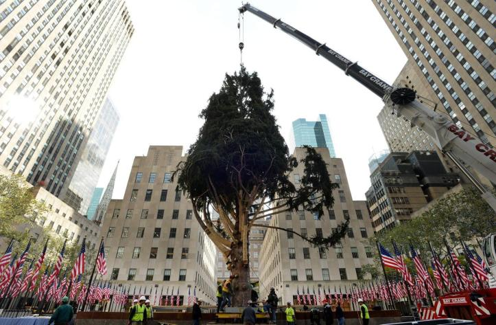 Árbol Rockefeller Center