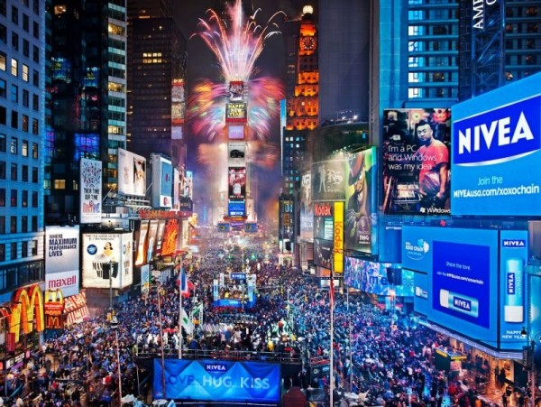 times square new year eve