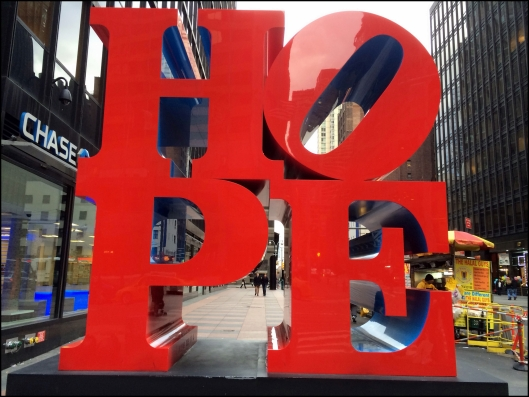 Hope Robert Indiana NYC