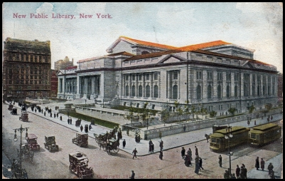 New Public Library, New York.