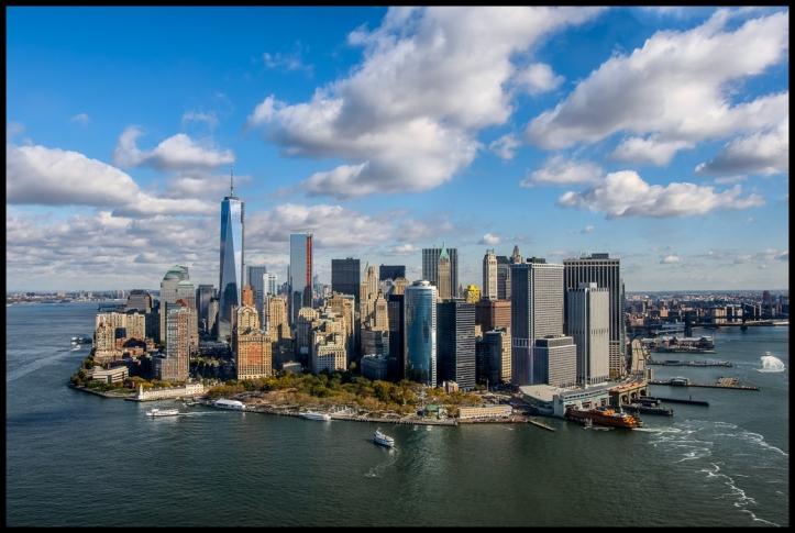 Nueva York Battery aerea