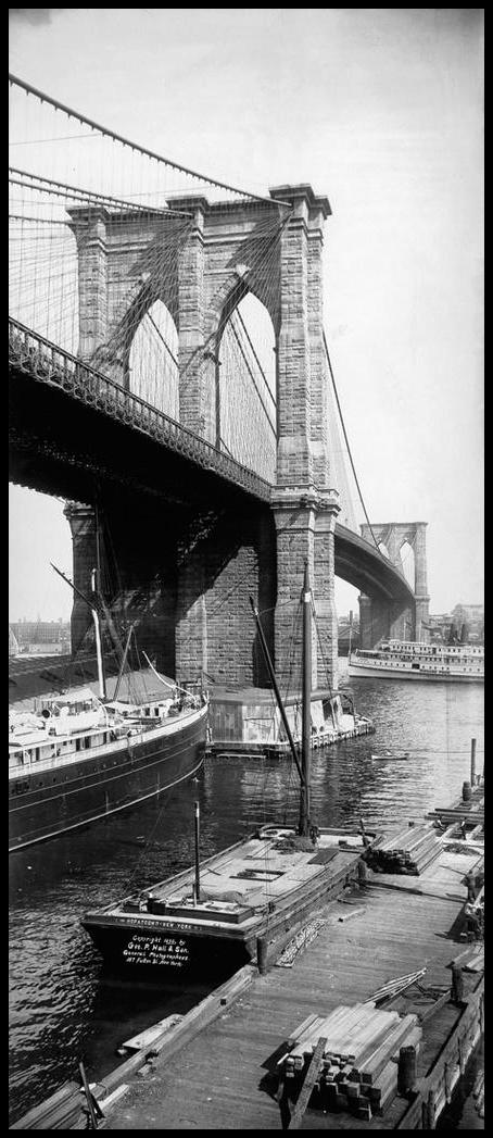 Puente de Brooklyn vertical