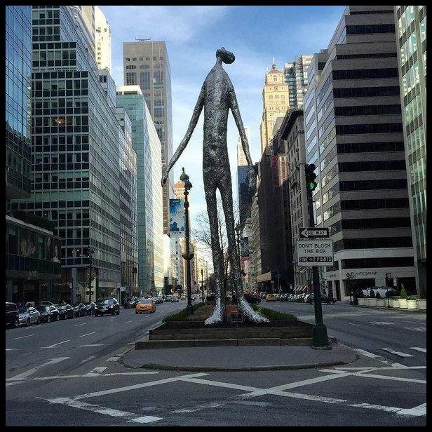 Tom Friedman Looking Up