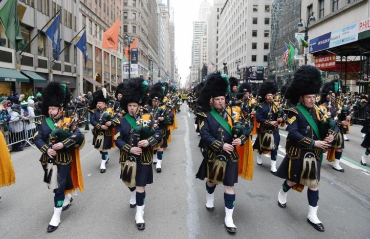 San Patricio desfile NYC