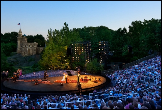 """""""Shakespeare in the Park""""."""