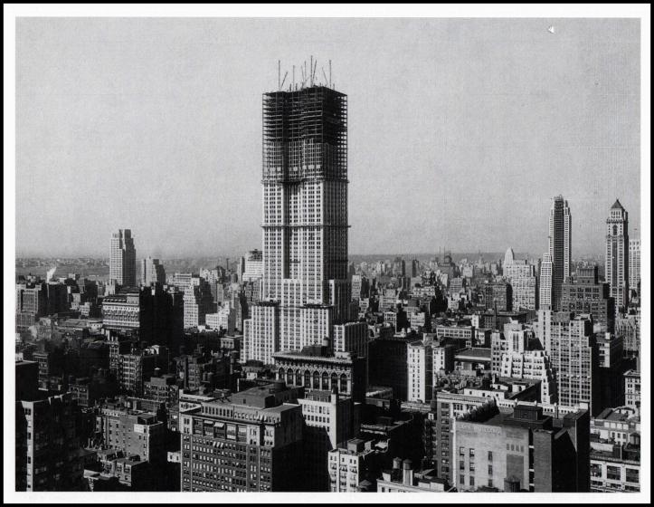 Empire State en construcción