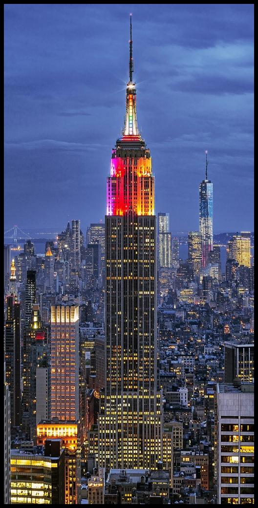 Empire y One World Trade Center