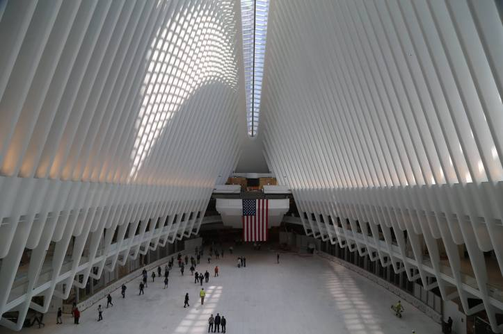 Oculus WTC Progress