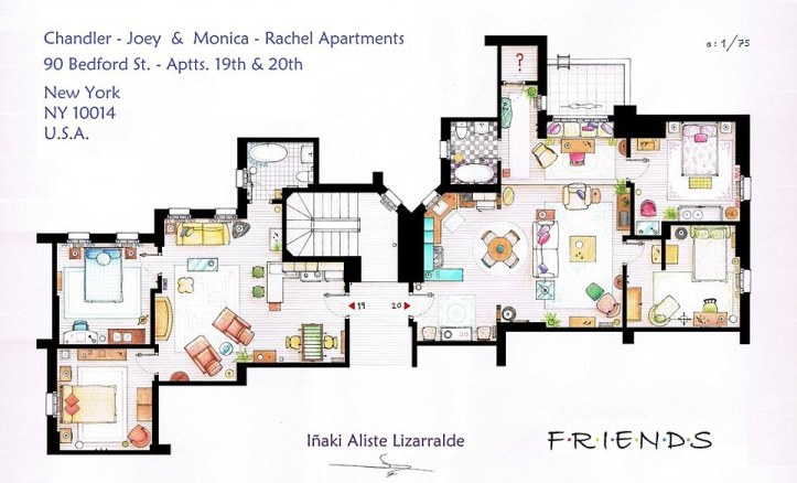 apartamento friends