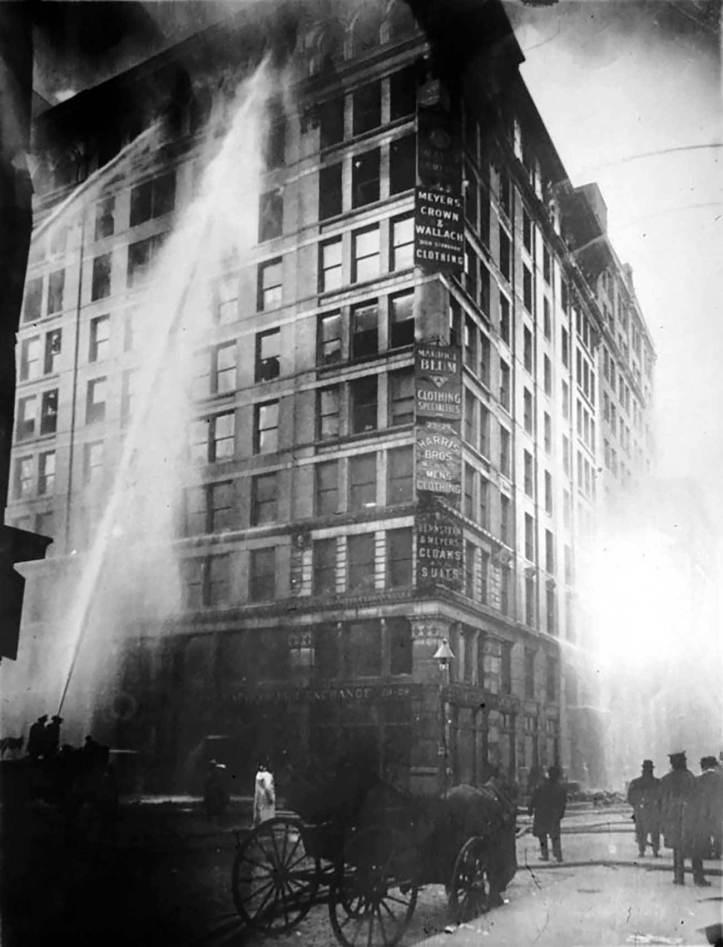 1911 Triangle Shirt Fire