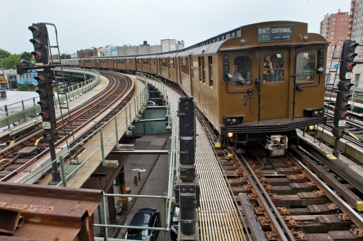 Parade of trains